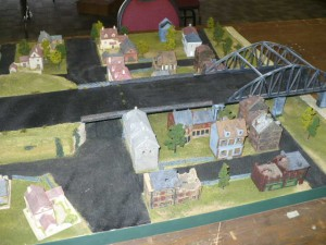 Photo 24 - And another table reserved for 'Flames of War' action. I may be wrong, but this could be a scenario for Arnhem.