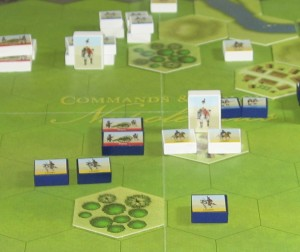End of Turn 13 (close-up of French right)