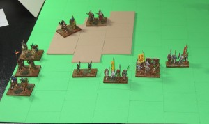 End of Turn 4. Detail of the Sienese LH attack.