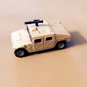 Matchbox Humvee