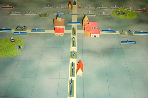 This is a photo from an old wargame using the balsa units.